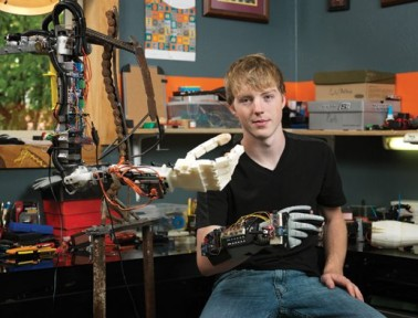 Teen Inventor Easton LaChappelle Reaches for the Future