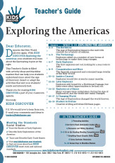 This 12-page Teacher Guide on Exploring the Americas is filled with activity ideas and blackline masters that can help your students understand more about the Age of Discovery. Select or adapt the activities that suit your students' needs and interests best.