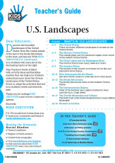 This 12-page Teacher Guide on U.S. Landscapes is filled with activity ideas and blackline masters that can help your students understand more about the diverse landscapes of the United States. Select or adapt the activities that suit your students' needs and interests best.