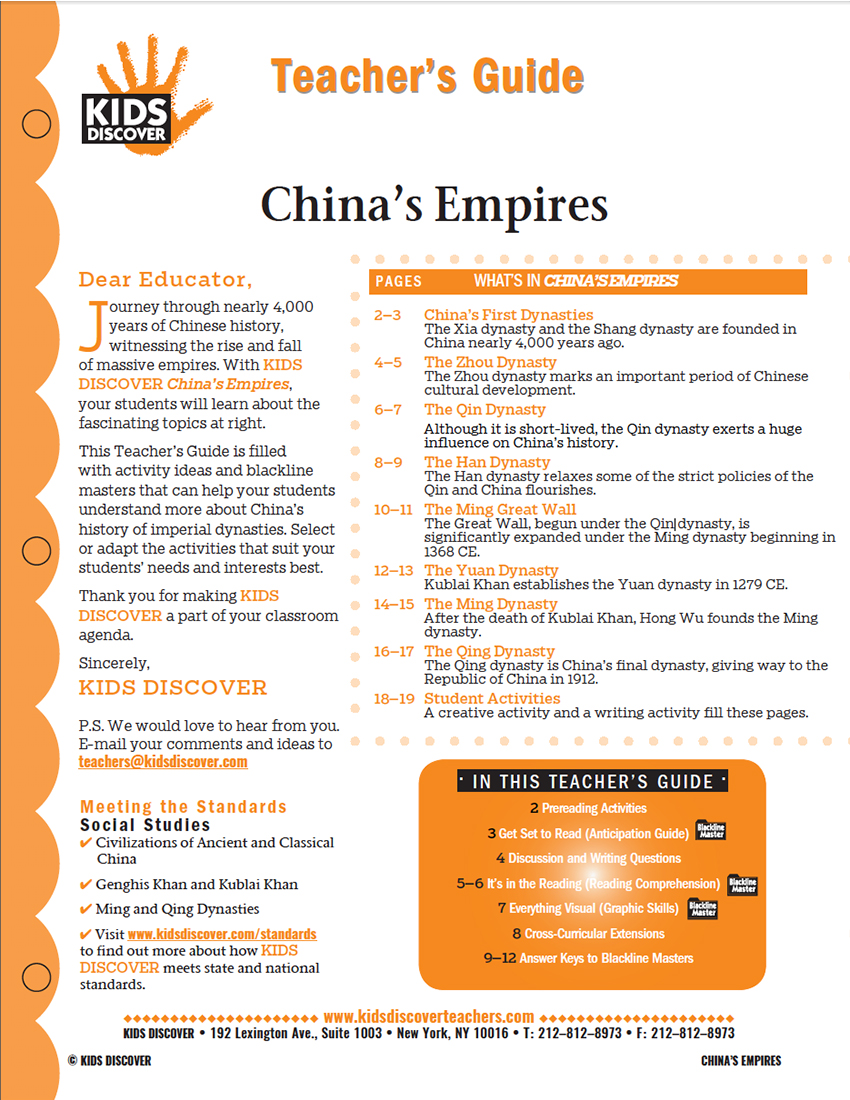China's Empires - Kids Discover
